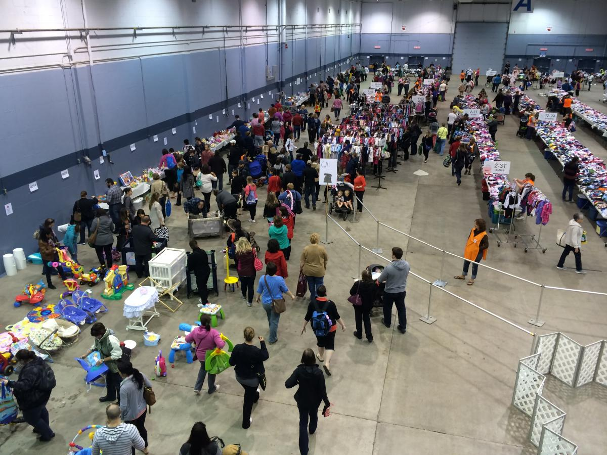 moncton multiples consignment sale shopping tips